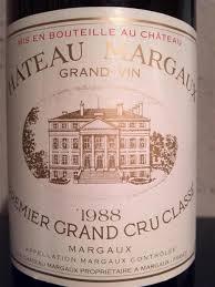 chateau margaux i will drink 1988 château margaux bordeaux médoc margaux cellartracker