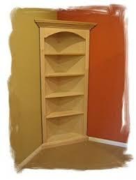 Wood Corner Bookcase Corner Bookcases For Sale Foter