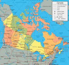 capital of canada map canada states capital map