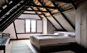 danish design rustic loft bedroom interior design