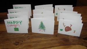 christmas planning children u0027s handmade christmas cards
