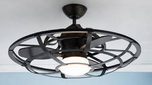 Ceiling Fan With Cage Light Best 25 Caged Ceiling Fan Ideas On Pinterest Industrial Ceiling