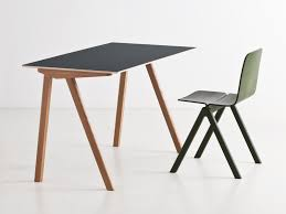 Small Contemporary Desks Hay Copenhague Desk Cph90 Contemporary Desk Copenhagen And Desks
