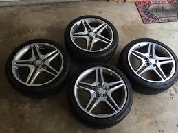 mercedes amg wheels 18 18 oem mercedes amg wheels and tires from a 2014 45