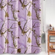 Realtree Shower Curtain Realtree Ap Lavender Camouflage Shower Curtain Cabin Place