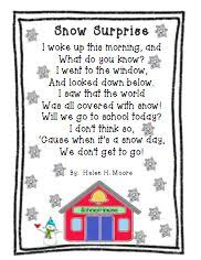 104 best winter poetry u0026 songs images on pinterest preschool