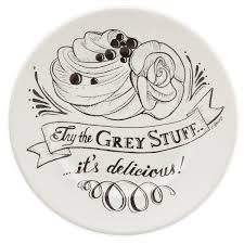 guest plate be our guest dessert plate white shopdisney
