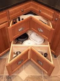 kitchen drawer organization blind corner cabinet solution corner