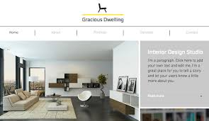 how to start an interior design business from home html website templates for design wix