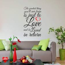 moulin rouge quote the greatest thing wall art sticker