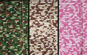 Colored Blinds Camo Style Home Style Too Blindsgalore Blog