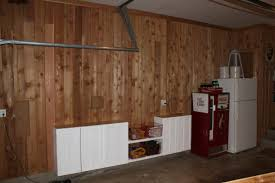 cedar wood wall cedar planking the garage the cavender diary