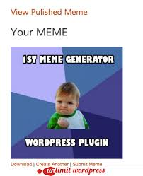 Meme Geenrator - meme generator wordpress plugin by jordanbanafsheha codecanyon