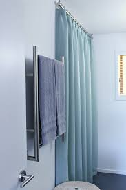 Ceiling Mounted Shower Curtain Rods by Accessories Wall Mounted Shower Curtain Rod Regarding Elegant