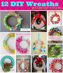 Wreath Diy Diy Wreaths A Little Craft In Your Day