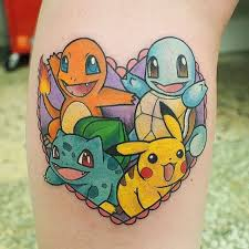 20 pokemon tattoo for fans who wanna catch them all u2013 otakukart