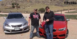 lexus isf drag race bmw m235i drag races lexus is f updated with full comparison review
