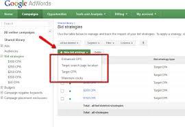 adwords bid adwords bid strategies two steps forward one step back