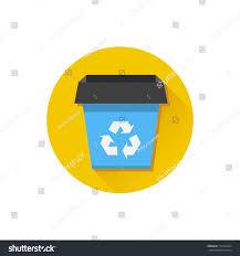vector recycle bin icon stock vector 173104334 shutterstock