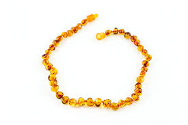 baby bead necklace images 100 certified balticamber baby necklace pop clasp polished cognac jpg