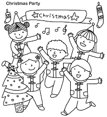 kids christmas coloring pages wallpapers9