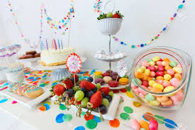 cake candies marshmallows cakepops fruits and other sweets