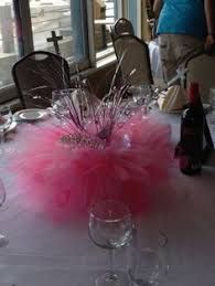 tutu centerpieces for baby shower tutu centerpiece idea centerpieces fiestas