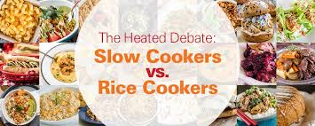 The Heated Debate Slow Cookers vs Rice Cookers HamiltonBeach