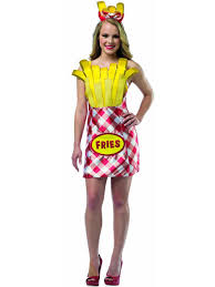foodies french fries fancy dress costume funny comedy hen
