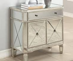 Mirrored Desks Furniture Bedroom Endearing Eve Antiqued Mirrored Desk Silver Photos Of
