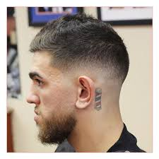 very short hairstyle men also manly hair mid fade with short