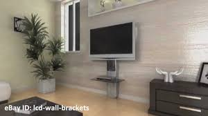 Cable Management System For Wall Mounted Tv Wibox Tv Bracket With Dvd Shelves And Cable Management Ebay Youtube