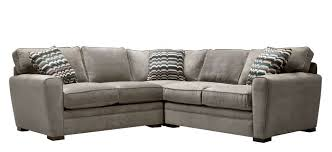 Raymour And Flanigan Sectional Sofas Artemis Ii 3 Pc Microfiber Sectional Sofa Gypsy Vintage