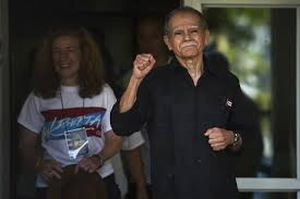 home confinement puerto rico militant leader emerges from 36 years in custody am