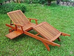 reclining wooden patio lounge chair patio design ideas 2573