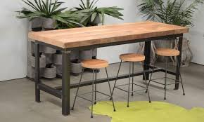 Industrial Bar Table Collection Recycled Baltic Pine Industrial Bar Table