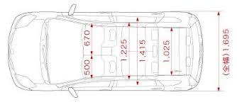 width of toyota yaris toyota passo sette yaris sized 7 seat mpv treehugger