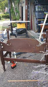 How To Build Wood Bench How To Build A Headboard Bench Confessions Of A Serial Do It