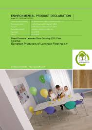 European Laminate Flooring New Epd For Laminate Flooring Published The Eplf Is Committed To