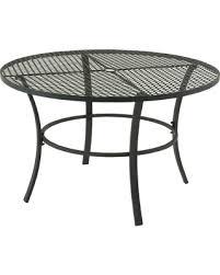 holiday sale studio 350 metal round outdoor table striking metal