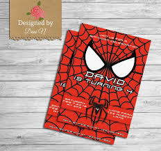 die besten 25 spiderman birthday invitations ideen auf pinterest