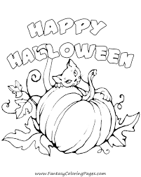 Cat Halloween Coloring Pages by Blog U2013 Fantasy Coloring Pages