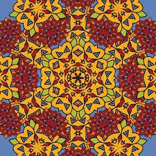 unusual seamless oriental art backdrop geometric mandala unusual