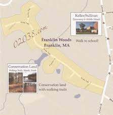 Ma Map Franklin Woods In Franklin Ma Franklin Ma Massachusetts Home