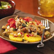 cuisine polenta ratatouille with polenta recipe taste of home