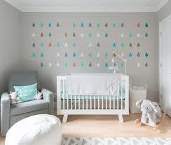 Moroccan Wall Decal by Baby Nursery Modern Nursery Features Geometric Teardrops Wall