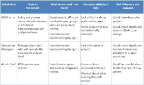 doc 600600 project stakeholder analysis template u2013 example of