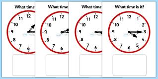 clock matching game quarter past clock time matching game