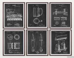 beer patent etsy