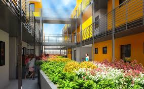 Apartment Courtyard Image Result For Courtyard Apartments Single Loaded Corridor